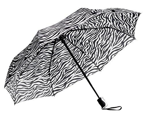 Mini Triple-Fold Print Umbrella Pattern: Zebra Print