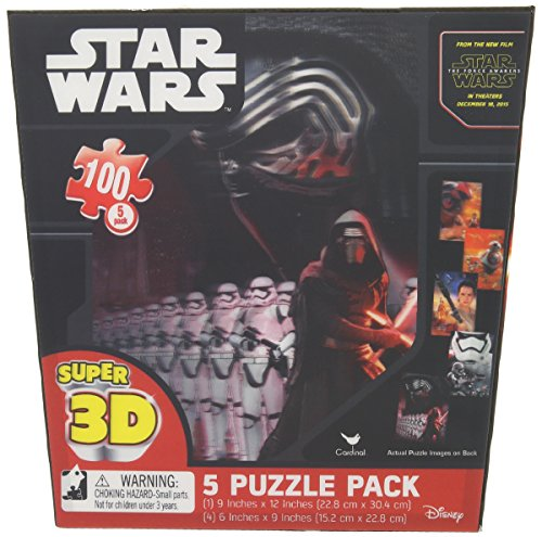 Star Wars Episode 7 The Force Awakens - 5 Puzzle Pack