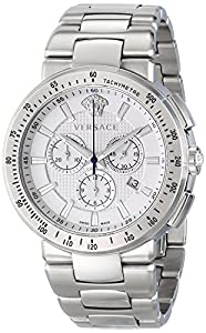 Versace VFG090014 MYSTIQUE SPORT Men's Chronograph white Watch