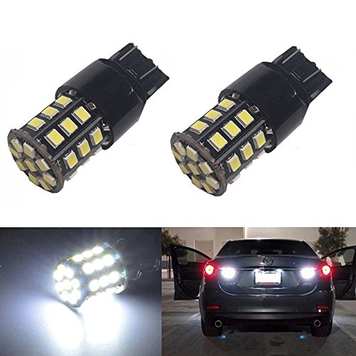 JDM ASTAR Super Bright AX-2835 Chipsets 7440 7441 7443 7444 992 LED Bulbs ,Xenon White (Led Bulbs 7443 compare prices)