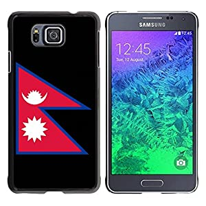 STPlus Nepal Nepali Nepalese Flag Hard Cover Case for Samsung Galaxy