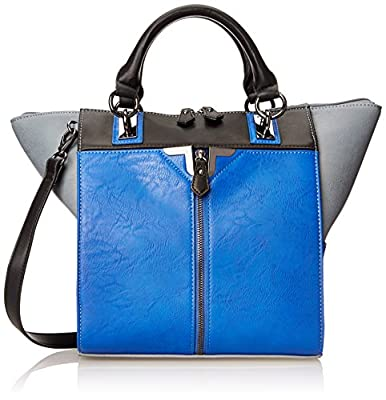 Danielle Nicole Alexa Colorblock Tote Top Handle Bag