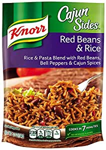 Knorr Cajun Sides, Red Beans & Rice 5.1 oz (Pack of 12)