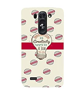 PRINTVISA Quotes Motivational Case Cover for LG G3 Beat