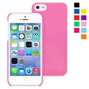 Snugg iPhone 5 / 5S Case - Ultra Thin Case with Lifetime Guarantee (Candy Pink) for Apple iPhone 5 / 5S