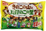 Meiji Mushroom & Bamboo Candy Pack - Kinoko No Yama & Takenoko No Sato - By From Japan