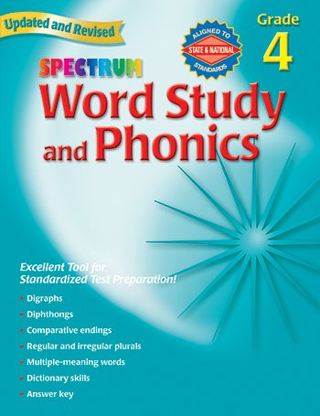 Spectrum Word Study and Phonics, Grade 4 - 1