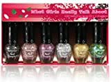 KLEANCOLOR What Girls Really Talk About - Glitter Nail Lacquer Mini Collection (NPC594)