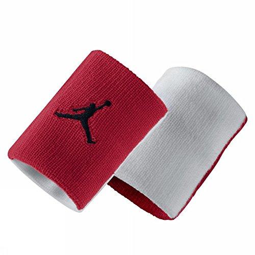 Nike Jordan Jumpman Polsino, Gym Red/Bianco/Nero, Taglia Unica