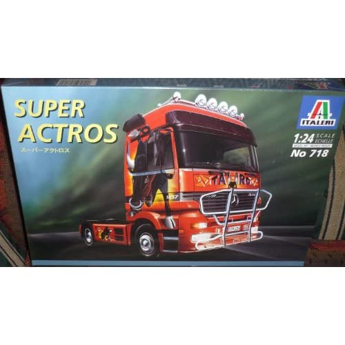 -Benz Super Actros Truck 1/24 Scale Plastic Model Kit,Needs Assembly