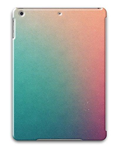 iPad Air Textured Ios7 Warm Gradient PC Custom iPad Air Case Cover Black deal 2016