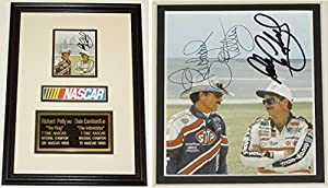 Dale Earnhardt Sr and Richard Petty Autographed Hand Signed Nascar Photo - Custom... by Real Deal Memorabilia
