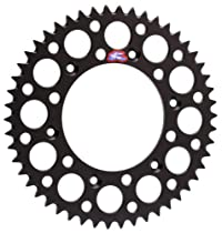 Renthal 112U-520-50GEBK Ultralight Black 50 Tooth Rear Sprocket