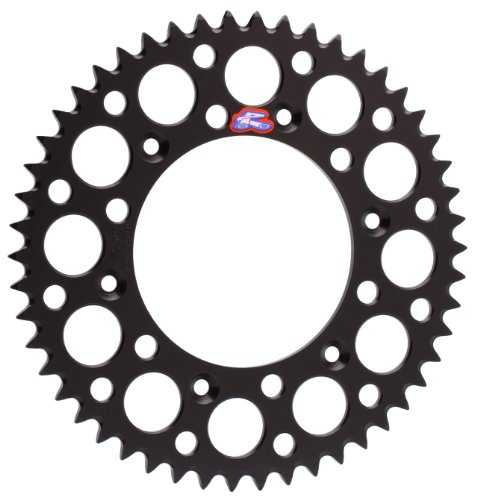 Renthal 112U-520-52GEBK Ultralight Black 52 Tooth Rear Sprocket