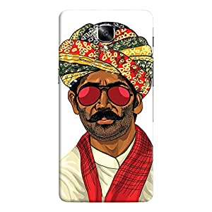 ColourCrust OnePlus 3 Mobile Phone Back Cover With Desi Swag Quirky - Durable Matte Finish Hard Plastic Slim Case