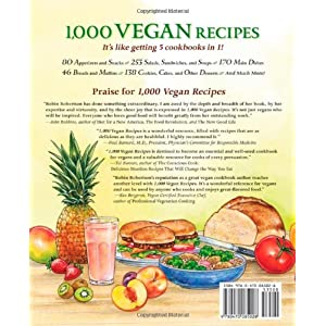 1,000 Vegan Recipes (1,00 Livre en Ligne - Telecharger Ebook