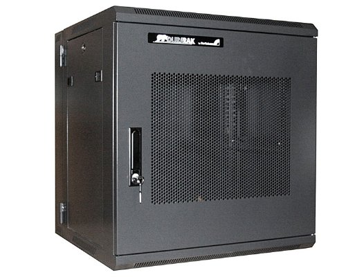 StarTech.com 12U 19 inch Hinged Wall Mount Server Rack Cabinet with Steel Mesh Door