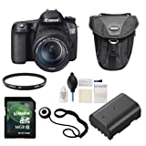 Canon 70D with 18-135 IS STM Lens Basic Kit
