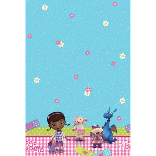 Disney Doc McStuffins Party Table Cover - 1 per Pack
