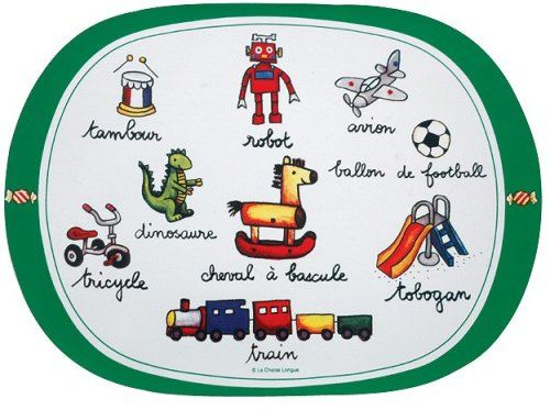 La Chaise Longue SET DE TABLE GARGON(グリーン)