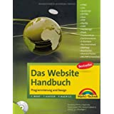 Das Website Handbuch - aktualisierte  Ausgabe: Programmierung und Design (Kompendium / Handbuch)von &#34;Tobias Hauser&#34;