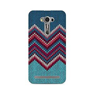 Ebby Knit Print Premium Printed Case For Asus Zenfone 2 Laser ZE500