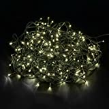 Beleuchtung - Tenia 200 LED Lichterkette Warmweiß Innen/Außen 20M Weihnachten Gartenbeleuchtung