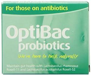 Optibac Probiotics for those On Antibiotics - Pack of 10 Capsules