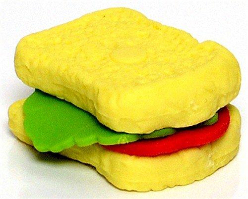 Ty Beanie Eraserz - Sandwich