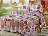 Home Sensation Stitched Reversible Quilt Sets