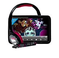 "Monster High 7"" touch tablet pack + stylus + headphones + case from INGO"