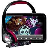 "Ingo MHU014D - Tablet de 7"" (4 GB + stylus + auriculares) diseño Monster High"
