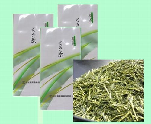 深蒸し茶 静岡茶 「くき茶」 棒茶 100g お得3袋セット300g メール便