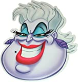 Disney Halloween Ursula (The little Mermaid) - Card Face Mask - Licensed Product