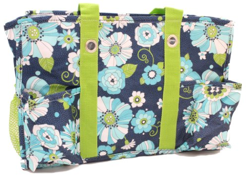 Thirty-One Organizing Utility Tote - Floral Celebration front-198811