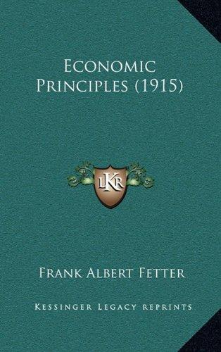 Economic Principles (1915)