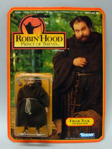 Robin Hood Prince of Thieves Friar Tuck Action Figure