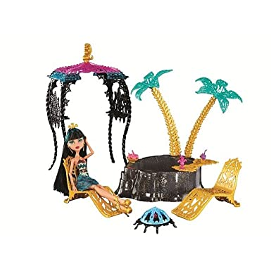 Monster High - 13 Wishes Cleo De Nile - Desert Frights Oasis Playset