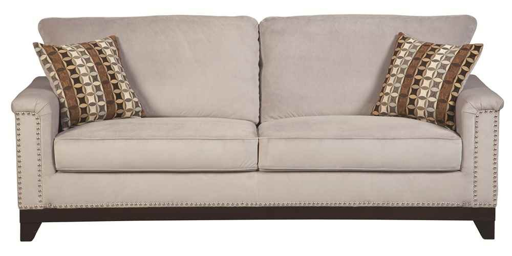 Coaster Home Furnishings Contemporary Sofa - Blue Grey