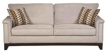 Coaster Home Furnishings Contemporary Sofa, Brown/Grey Blue