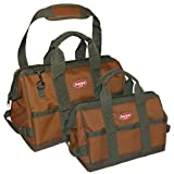 Bucket Boss 60028 Gatemouth Combo Tool Bags (Pack of 2)