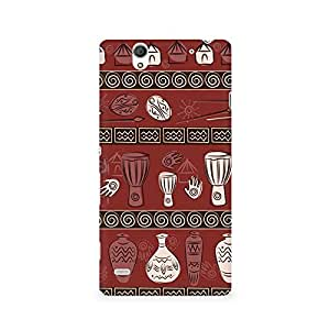 Ebby Primitive Pots Premium Printed Case For Sony Xperia C4