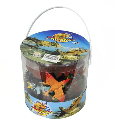 Giant-Bucket-of-Dinosaur-Action-Figures-Playset-32-Dinosaurs-and-Accessories