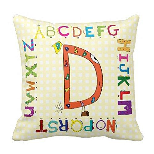 Comi Funny Fellows Cartoon Character Alphabet Letter D