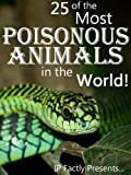 img - for 25 of the Most Poisonous Animals in the World! Incredible Facts, Photos and Video Links to Some of the Most Venomous Animals on Earth (25 Amazing Animals Series) book / textbook / text book