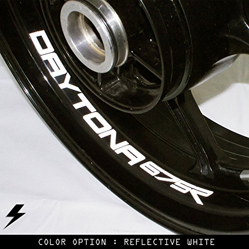 Triumph Daytona 675R Motorcycle Inner Rim Sticker Stripe RW (Daytona Rims compare prices)