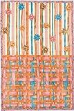 西川 リビング ボレリー アクリル ニューマイヤー毛布 140×200cm BO-073 リボン ピンク 2010-07333