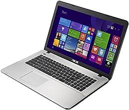 """Asus Premium R752LX-TY050H PC Portable 17,3"""" Gris Métal (Intel Core i7, 8 Go de RAM, Disque dur 1 To, Nvidia GeForce GTX950M, Windows 8.1)"""