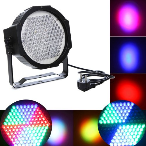 DODOCOOL DMX512 127 RGB LED Effect Light Stage Lighting Disco DJ Party Show AC90-240V US Plug