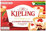 Mr Kipling Exceedingly Good 6 Cherry Bakewells 279 g (Pack of 10)